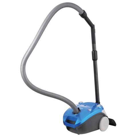 Пылесос SAMSUNG SC4140, с пылесборником,потребляемая мощность 1600 Вт, мощность всасывания 320 Вт, синий