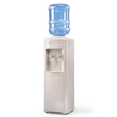 Кулер для воды AEL LC-AEL-16, напольный, нагрев/охлаждение, белый