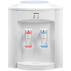 Кулер для воды HOT FROST D95F, настольный, нагрев/без охлаждения, 2 крана, белый