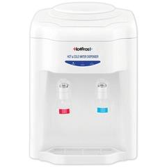 Кулер для воды HOT FROST D22E, настольный, нагрев/охлаждение, 2 крана, белый