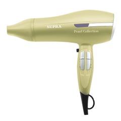 Фен SUPRA PHS-2004, мощность 2200 Вт, 3 скоростных режима, 3 температурных режима ионизация, пластик, бежевый