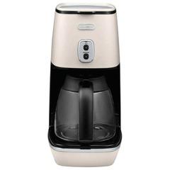 Кофеварка капельная DELONGHI ICMI211.W, 1000 Вт, объем 1,25 л, автоотключение, подогрев, белая