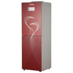 Кулер для воды AEL LC-AEL-602b red, напольный, нагрев/охлаждение, холодильник 12 л, 2 крана, бордо