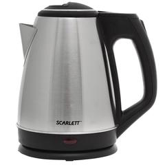 Чайник SCARLETT SC-EK21S25, закрытый нагревательный элемент, объем 1,5 л, мощность 1350 Вт, сталь