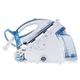 Парогенератор PHILIPS GC9545/02, 2400 Вт, 6,5 Бар, пар 120 г/мин, паровой удар 360 г/мин, 1,5 л, голубой