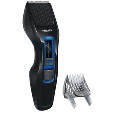 Машинка для стрижки волос PHILIPS HC3418/15, 13 установок длины, аккумулятор+сеть, черно-синяя