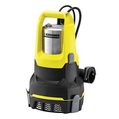 Насос дренажный KARCHER SP6 FlatInox, для чистой воды, 550 Вт, 14000 л/ч., автоматический режим, откачка до дна