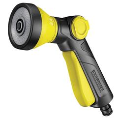 Пистолет для полива KARCHER (КЕРХЕР), регулировка формы струи и напора, лейка, пластик, 2.645-266.0