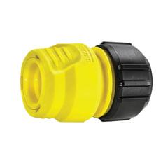 Коннектор (соединитель) KARCHER (КЕРХЕР) для шлангов 1/2, 5/8, 3/4, пластик, 2.645-191.0