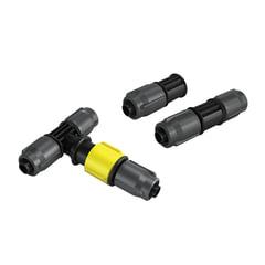 Комплект соединительных элементов KARCHER (КЕРХЕР) для системных и сочащихся шлангов, пластик, 2.645-240.0