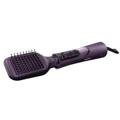Фен-расческа PHILIPS HP8656/00, 1000 Вт, 2 режима, 5 насадок, ионизация, фиолетовый