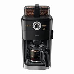 Кофеварка капельная PHILIPS HD7762/00, 1,2 л, 1000 Вт, таймер, кофемолка, дисплей, черная