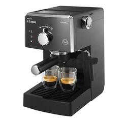 Кофеварка рожковая PHILIPS SAECO HD8323/39, 950 Вт, объем 1,25 л, ручной капучинатор, черная