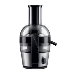 Соковыжималка PHILIPS HR1863/00, 700 Вт, 2 л, емкость для жмыха 1,2 л, пластик/алюминий, серебристая