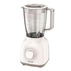 Блендер стационарный PHILIPS HR2100/00, 400 Вт, 2 скорости, чаша 1,5 л, пластик, белый