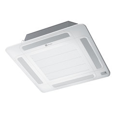 Сплит-система кассетная ELECTROLUX EACС/I-18H/DC/N3, внешний и внутренний блок, площадь помещения 50 м2, 3 места