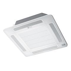 Сплит-система кассетная ELECTROLUX EACС/I-36H/DC/N3, внешний и внутренний блок, площадь помещения 100 м2, 3 места