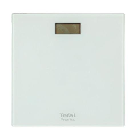 Весы напольные TEFAL PP1061, электронные, вес до 150 кг, квадратные, стекло, белые