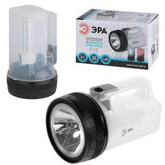 """Фонарь светодиодный """"ЭРА"""" прожектор-светильник-аварийный маяк F15, 3хAA (в комплект не входят)"""