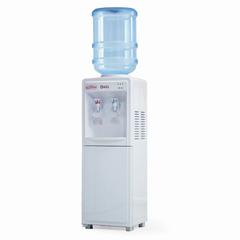 Кулер для воды AEL LD-AEL-718c, напольный, нагрев/охлаждение, шкафчик 9 л, 2 крана, белый