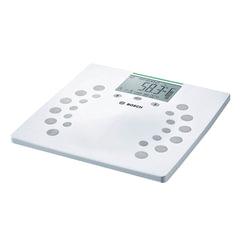 Весы напольные BOSCH PPW2360, электронные, вес до 180 кг, квадратные, пластик, белые
