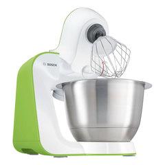 Кухонная машина BOSCH MUM54G00, 900 Вт, 7 скоростей, 3 насадки, зеленая