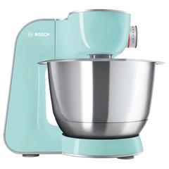 Кухонная машина BOSCH MUM58020, 1000 Вт, 7 скоростей, блендер, 6 насадок, голубая
