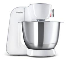Кухонная машина BOSCH MUM58243, 1000 Вт, 7 скоростей, блендер, 7 насадок, белая