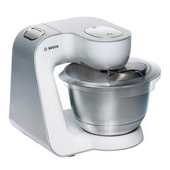 Кухонная машина BOSCH MUM59363, 1000 Вт, 7 скоростей, мясорубка, блендер, 7 насадок, серая