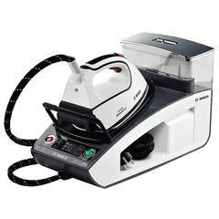 Парогенератор BOSCH TDS4581, 3100 Вт, 6,5 Бар, пар 130 г/мин., паровой удар 400 г/мин., 1,3 л, белый