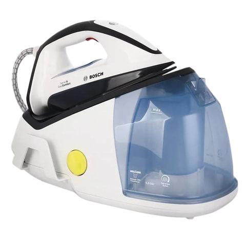 Парогенератор BOSCH TDS6010, 2400 Вт, 5,5 Бар, пар 120 г/мин., паровой удар 350 г/мин., 1,5 л, белый
