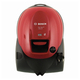 Пылесос BOSCH BSN1701RU, с пылесборником, 1700 Вт, мощность всасывания 350 Вт, красный
