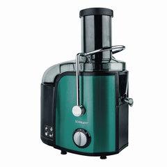 Соковыжималка SCARLETT SC-JE50S29, 1000 Вт, стакан 1,1 л, емкость для жмыха 1,5 л, пластик, зеленая/черная