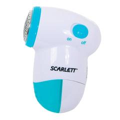 Машинка для удаления катышков SCARLETT SC-920, съемный резервуар, пластик, белый/голубой
