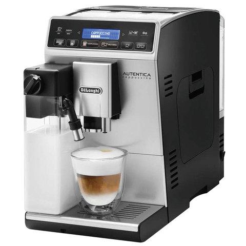 Кофемашина DELONGHI ETAM 29.660.SB, 1450 Вт, объем 1,4 л, емкость для зерен 200 г, автоматический капучинатор, серебристая