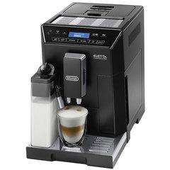 Кофемашина DELONGHI ECAM 44.664.B, 1450 Вт, объем 2,0 л, емкость для зерен 400 г, автоматический капучинатор, черная