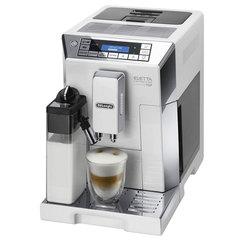 Кофемашина DELONGHI ECAM 45.764.W, 1450 Вт, объем 2,0 л, емкость для зерен 400 г, автоматический капучинатор, белая