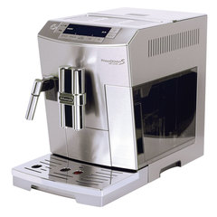 Кофемашина DELONGHI ECAM 28.464.M, 1450 Вт, объем 2,0 л, емкость для зерен 250 г, автоматический капучинатор, серебристая