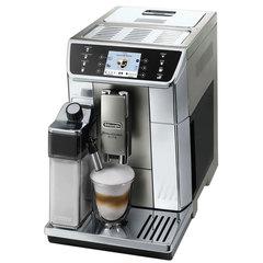 Кофемашина DELONGHI ECAM 650.55.MS, 1350 Вт, объем 2,0 л, емкость для зерен 400 г, автоматический капучинатор, серебристая