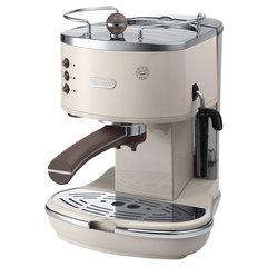 Кофеварка рожковая DELONGHI ECOV 311.BG, 1100 Вт, объем 1,4 л, ручной капучинатор, бежевая