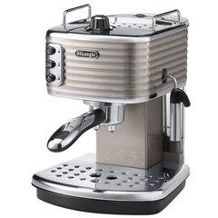 Кофеварка рожковая DELONGHI ECZ 351.BG, 1100 Вт, объем 1,4 л, ручной капучинатор, бежевая