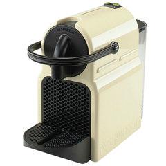 Кофемашина капсульная DELONGHI Nespresso EN 80.CW, 1260Вт, объем 0,8 л, бежевая + капсулы на 16 чашек