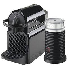 Кофемашина капсульная DELONGHI Nespresso EN 80.BAE, 1260 Вт, объем 0,8 л, капучинатор, черная + капсулы 16 штук