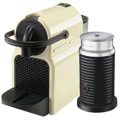 Кофемашина капсульная DELONGHI Nespresso EN 80.CWAE, 1260 Вт, объем 0,8 л, капучинатор, бежевая + капсулы 16 шт.