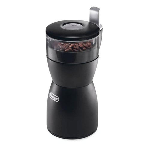 Кофемолка ножевая DELONGHI KG 40, 170 Вт, объем 90 г, ножи из нержавеющей стали, черный