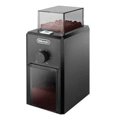 Кофемолка жерновая DELONGHI KG 79, 110 Вт, объем 120 г, 12 степеней помола, черная