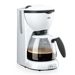 Кофеварка капельная BRAUN KF520/1, 1100 Вт, объем 1,4 л, автоотключение, белая