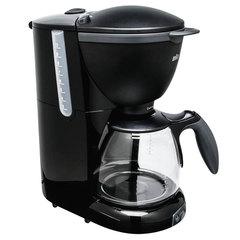 Кофеварка капельная BRAUN KF560/1, 1100 Вт, объем 1,4 л, автоотключение, черная