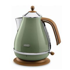 Чайник DELONGHI KBOV2001.GR, 1,7 л, 2000 Вт, закрытый нагревательный элемент, сталь, зеленый