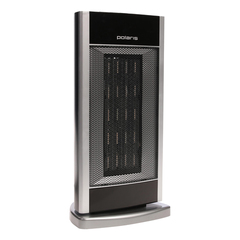 Тепловентилятор POLARIS PCSH 1220, керамический нагревательный элемент, 2000 Вт, 2 режима работы, черный